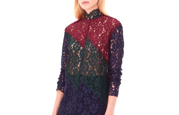 Elda top, $325, available at Sandro.