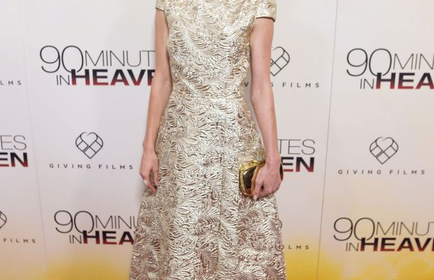 Actress Kate Bosworth attends '90 Minutes In Heaven' Atlanta premiere at Fox Theater on Sept. 1, 2015 in Atlanta, Georgia. (Photo by Marcus Ingram/Getty Images)