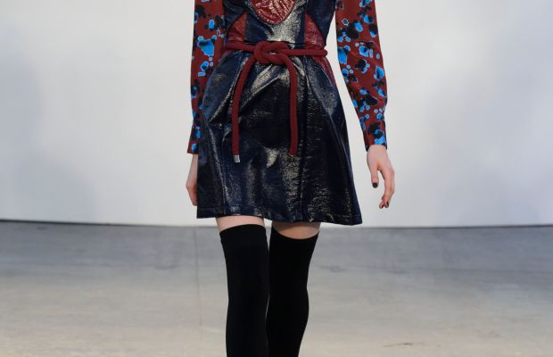 A look from the Tanya Taylor fall 2015 collection. Photo: Imaxtree