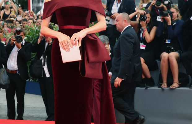 """Diane Kruger in Hugo Boss at the premiere of """"Black Mass"""" during the 72nd Venice Film Festival. Photo: Vittorio Zunino Celotto/Getty Images"""