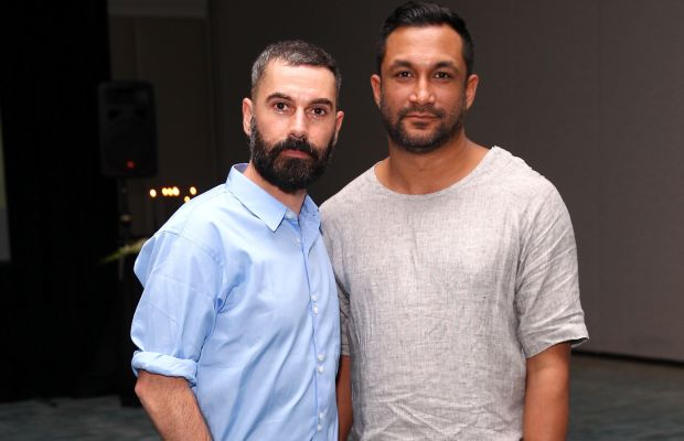 Tome designers Ramon Martin and Ryan Lobo in 2014. Photo: Astrid Stawiarz/Getty Images