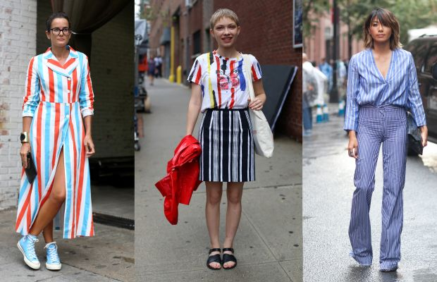 Lucy Chadwick, Tavi Gevinson and May Kwok. Left and center photos: Angela Datre/Fashionista. Right: Emily Malan/Fashionista