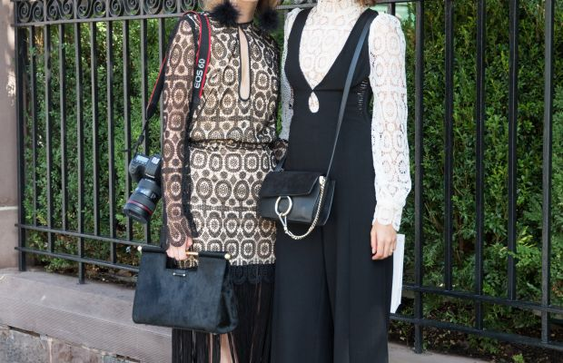 Zimmerman lace dress and top. Photo: KDV/Fashionista
