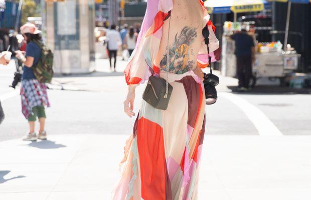 Zanita Whittington in Zimmerman dress. Photo: KDV/Fashionista