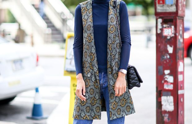 Blogger Linda Tol. Photo: Imaxtree