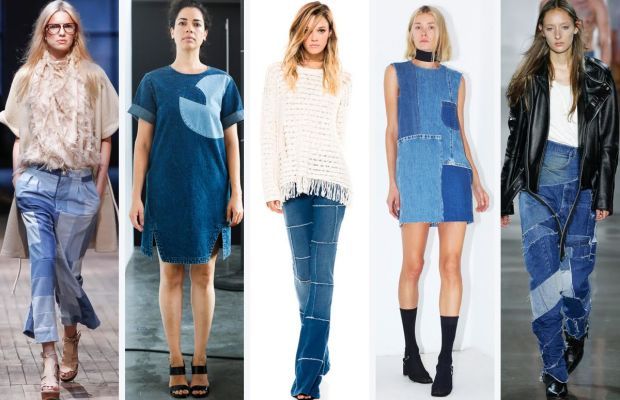 From left to right: Rodebjer, Rachel Comey, Pam & Gela, Assembly New York, and VFiles