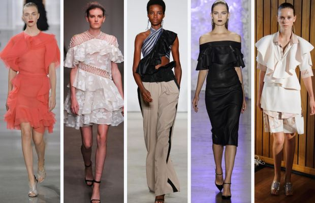 From left to right: Jason Wu, Zimmermann, Tome, Cushnie et Ochs, and Area