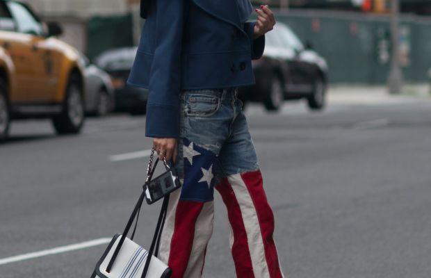 Blogger Leaf Greener. Photo: Emily Malan/Fashionista