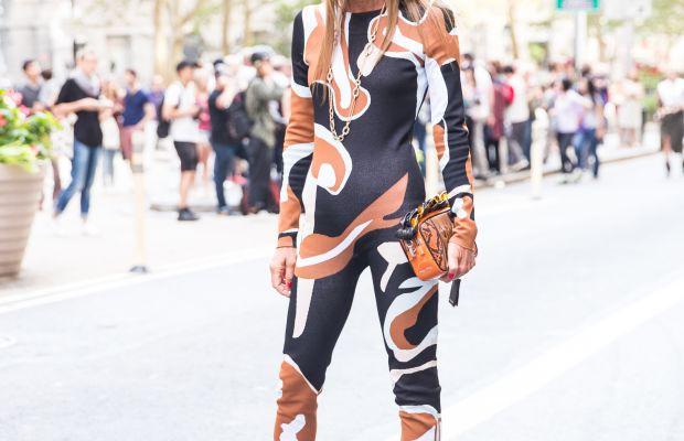 Anna Dello Russo in Dior. Photo: KDV/Fashionista