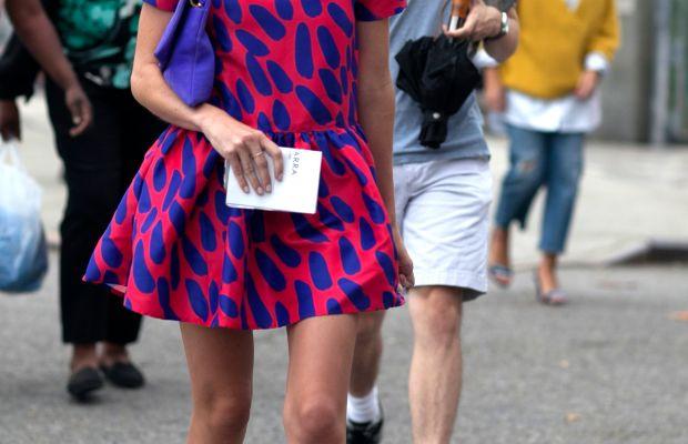 Day four of New York Fashion Week. Photo: Emily Malan/Fashionista