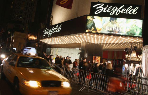 The Ziegfeld Theatre on 54th Street. Photo: Stephen Lovekin/Getty Images for 20th Century Fox