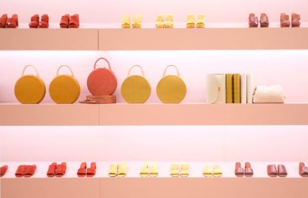 New shoes, bags and colors from Mansur Gavriel. Photo: Mansur Gavriel