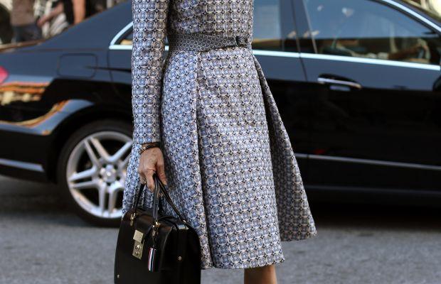 Vanity Fair's Amy Fine Collins. Photo: Angela Datre/Fashionista