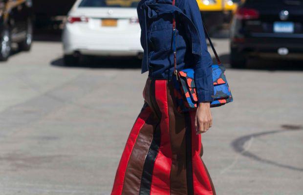 Blogger Linda Tol. Photo: Emily Malan/Fashionista