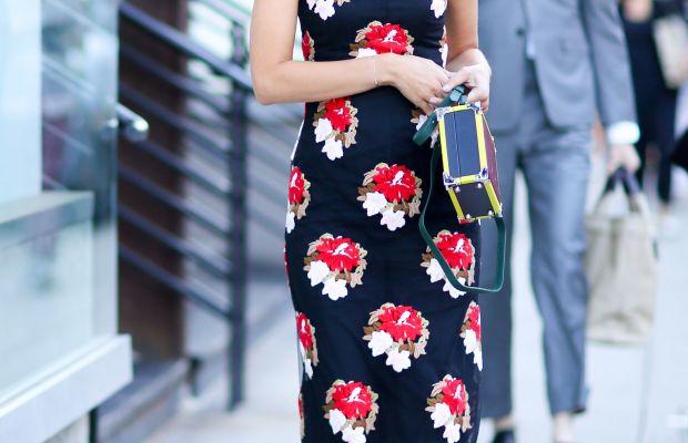 Fashion consultant Yasmin Sewell. Photo: Imaxtree