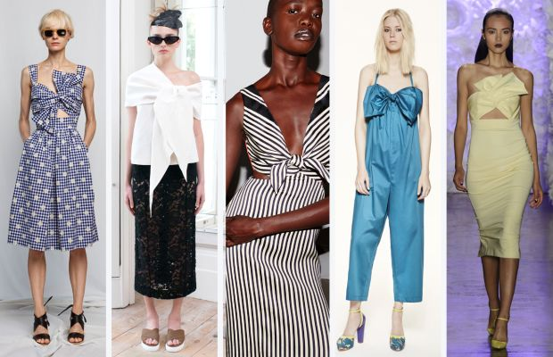 From left to right: Whit, Isa Arfen, Misha Nonoo, M Missoni, and Cushnie et Ochs. Photos: Imaxtree and courtesy