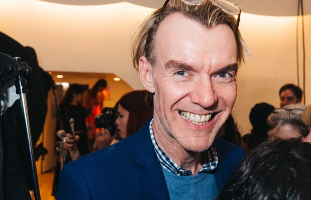 Neiman Marcus Fashion Director Ken Downing at Nanette Lepore's spring 2016 presentation party. Photo: Nanette Lepore