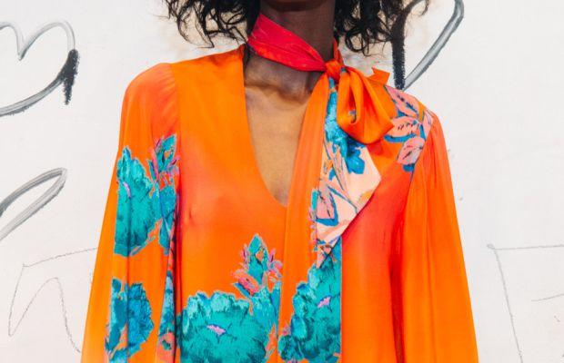 A model at Nanette Lepore's spring 2016 presentation party. Photo: Nanette Lepore