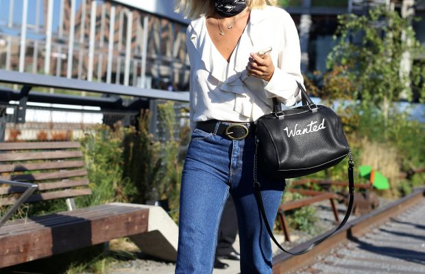 Coach handbag. Photo: Angela Datre/Fashionista