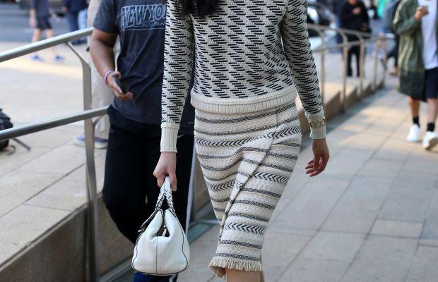 Model Liu Wen. Photo: Angela Datre/Fashionista