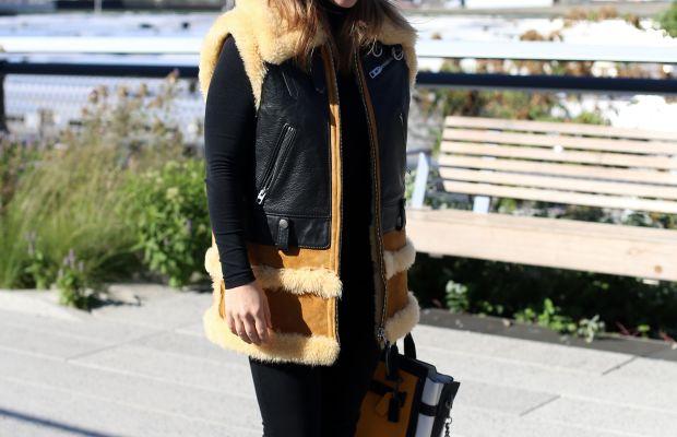 Actress Christina Ricci. Photo: Angela Datre/Fashionista
