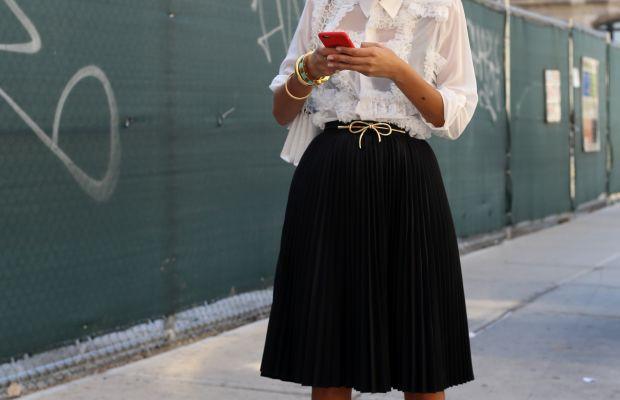Giovanna Battaglia. Photo: Angela Datre/Fashionista