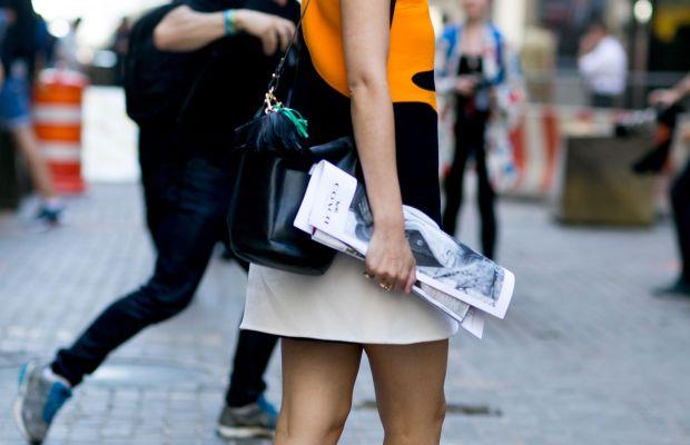 Caroline Issa in Pierre Hardy shoes. Photo: Imaxtree