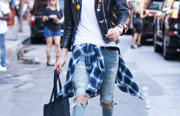 Chromeo's David Macklovitch. Photo: Emily Malan/Fashionista