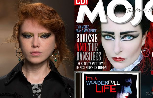 Creatures of the Wind and Siouxsie Sioux with her signature eye makeup. Photos: Imaxtree/Mojo