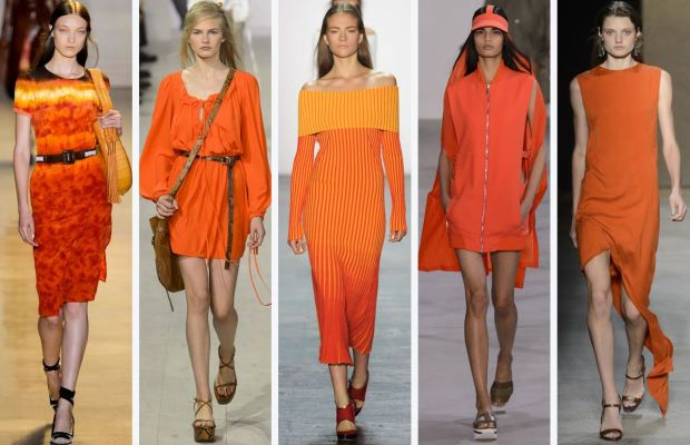 From left to right: Altuzarra, Michael Kors, Prabal Gurung, Lacoste and Narciso Rodriguez