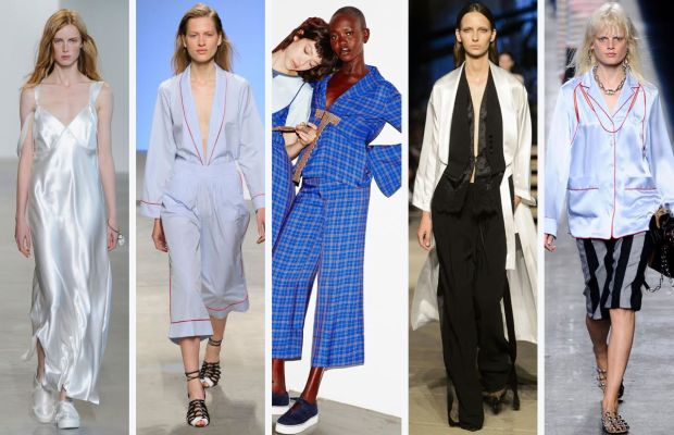 From left to right: Calvin Klein, Thakoon, Misha Nonoo, Givenchy and Alexander Wang.