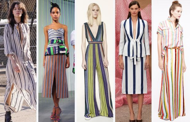 From left to right: Nili Lotan, Tanya Taylor, M Missoni, Protagonist, and J.Crew