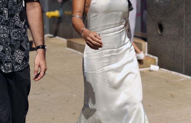 Zoe Kravitz in Calvin Klein. Photo: Angela Datre/Fashionista