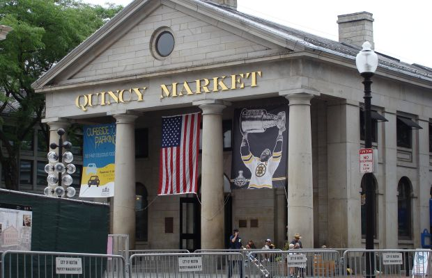 Boston's Quincy Market. Photo: InterAkcja