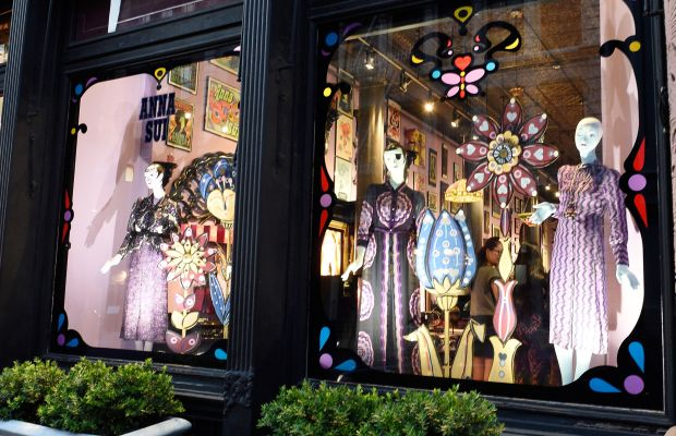 Outside Anna Sui's new store. Photo: Anna Sui