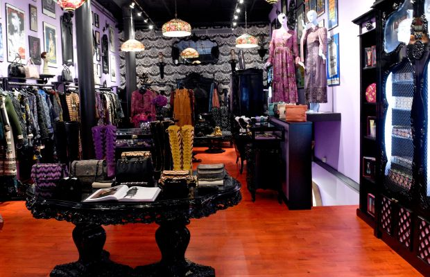 Inside Anna Sui's new store. Photo: Anna Sui