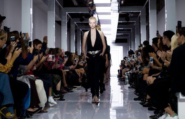 The Versus Versace spring 2016 runway show. Photo: Ian Gavan/Getty Images