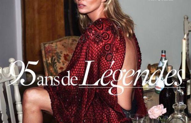 Kate Moss. Photo: Mert Alas and Marcus Piggott/'Vogue' Paris