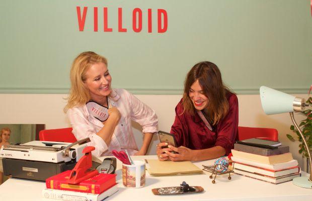 Jeanette Dyhre Kvisvik and Alexa Chung. Photo: Villoid