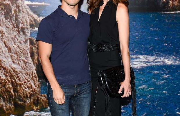 Joseph Altuzarra and Michelle Monaghan. Photo: BFA.com/Neil Rasmus