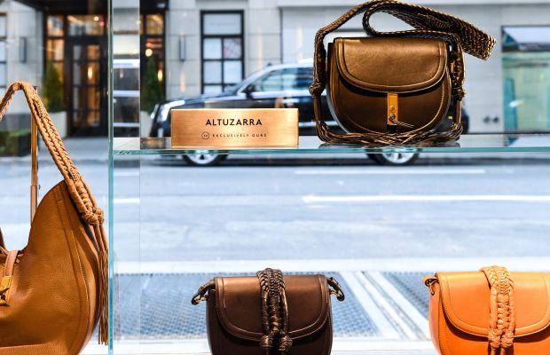 Altuzarra handbags at Barneys. Photo: BFA.com/Neil Rasmus