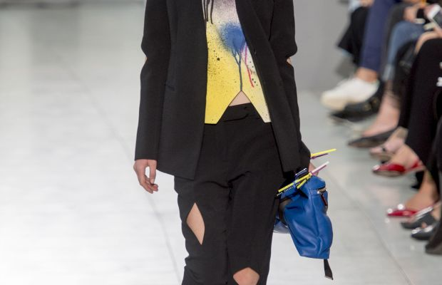 A look from Christopher Kane's spring 2016 collection. Photo: Imaxtree