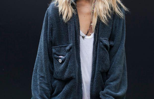 Model Chloe Norgaard. Photo: Emily Malan/Fashionista