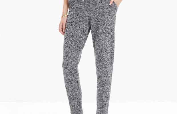 Madewell sweater pants, $98, available at Madewell.com.