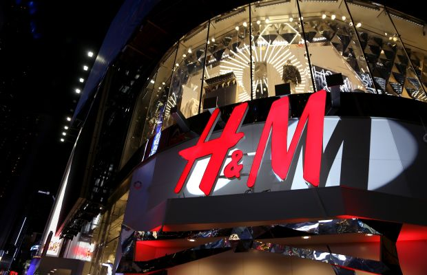 An H&M store. Photo: Anna Webber/Getty Images