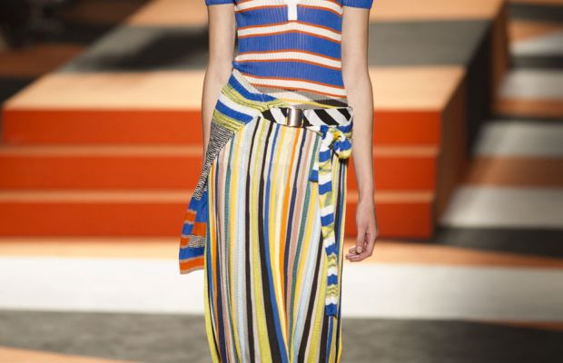 A look from Missoni's spring 2016 collection. Photo: Imaxtree