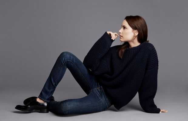 A Zady sweater. Photo: Zady