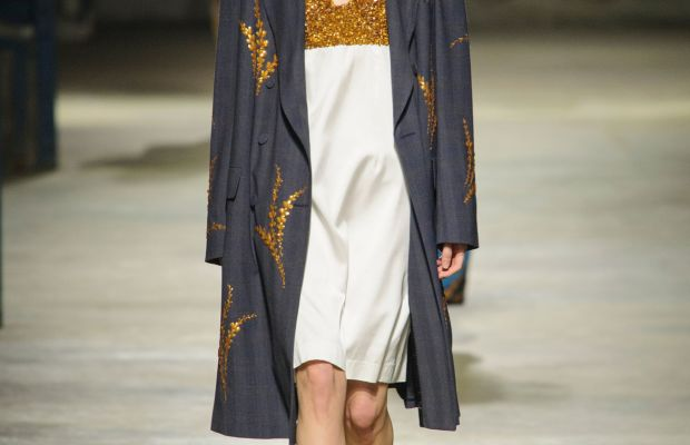 A look from Dries Van Noten's spring 2016 collection. Photo: Imaxtree