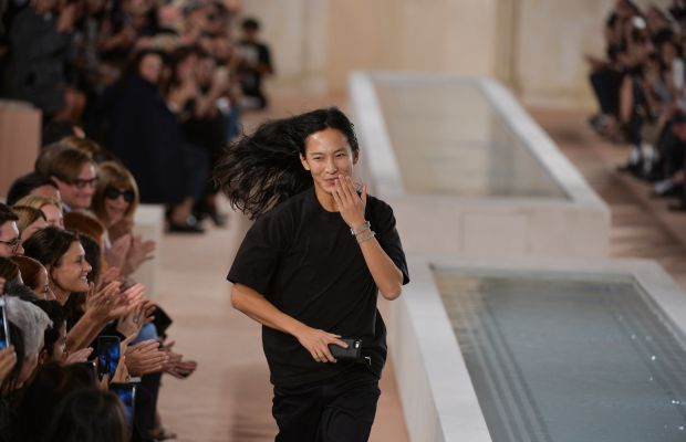 Alexander Wang (and Anna Wintour smiling in the back) Photo: Imaxtree