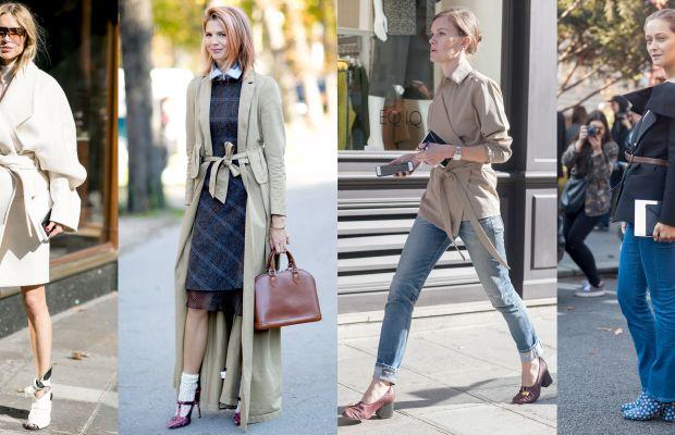 Tie it, cinch it, belt it, pin it. Photos: Imaxtree (2), Emily Malan/Fashionista (2)